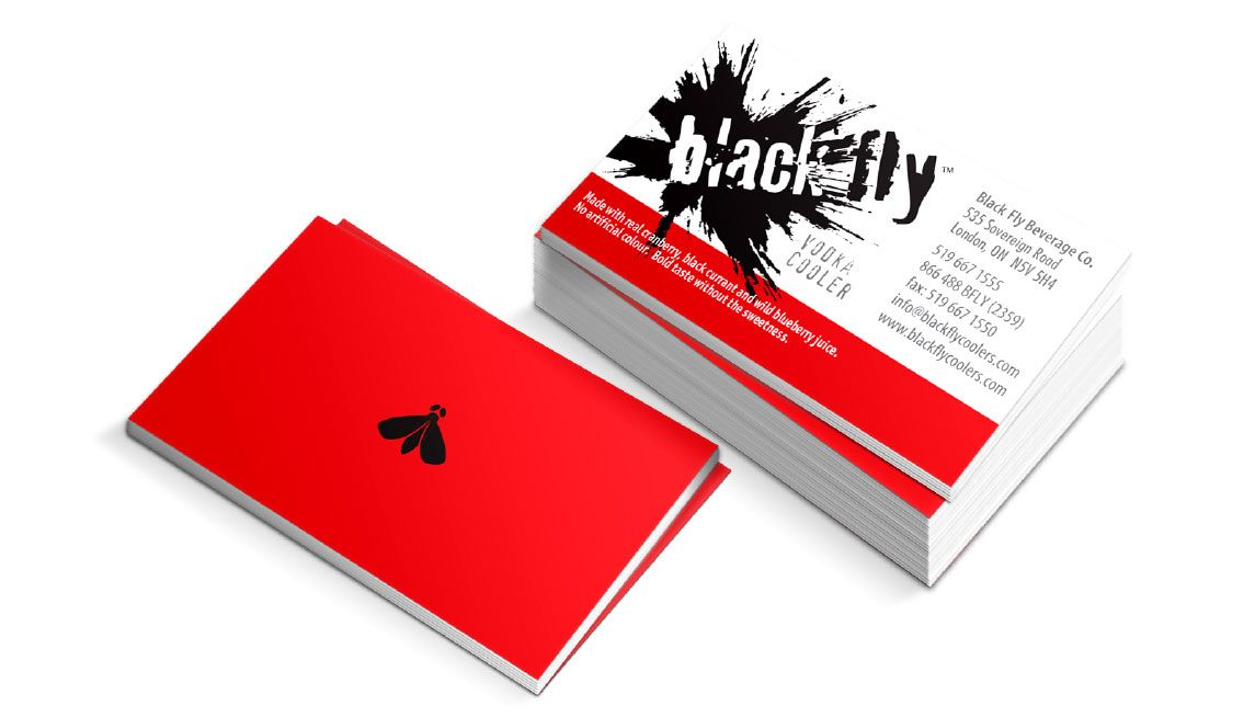 Black fly business card design things we do pinterest black black fly business card design reheart Image collections