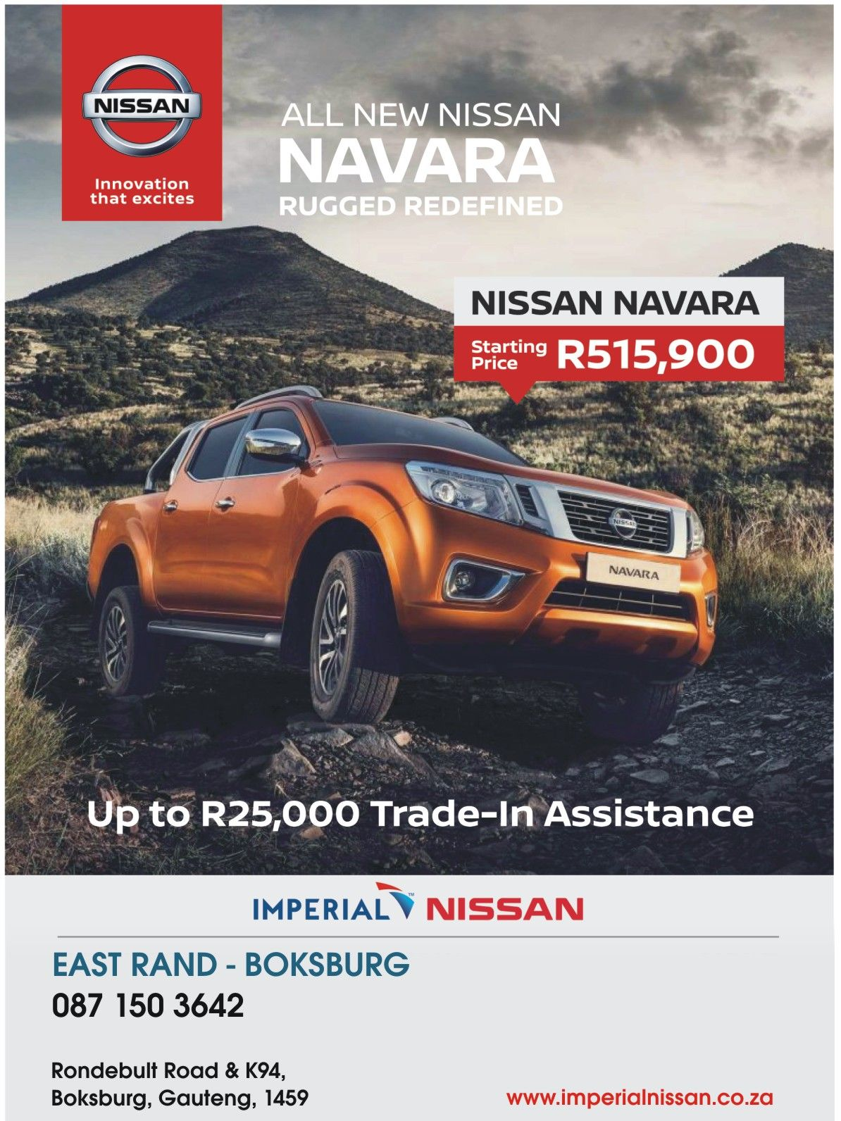 Dont miss out at #Imperial #Nissan #East #Rand #Boksburg Call us now