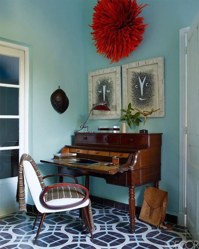 A bold and eclectic Marrakech home!