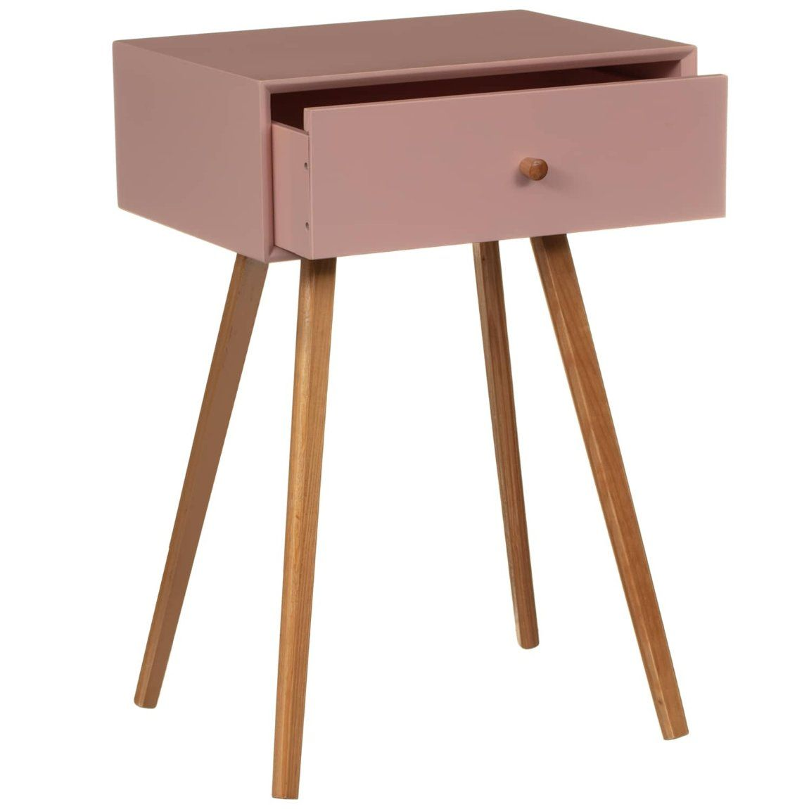 Bjorn Bedside Table Blush Bedroom Furniture B M In 2020 Bedroom Decor Everyday Essentials Products Bedside Table