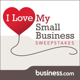 i love my small business sweepstakes win a 500 staples gift card