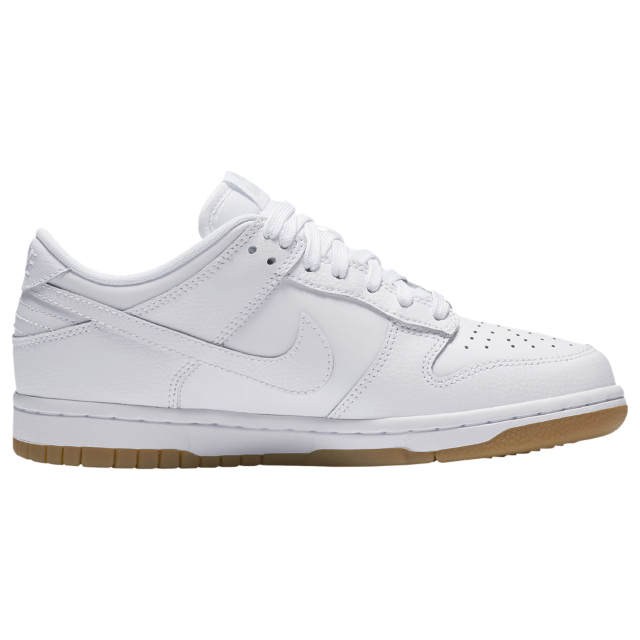 wholesale dealer fa4c0 c5d96 Nike Dunk Low - Whitewhitepure platinumgum light brown