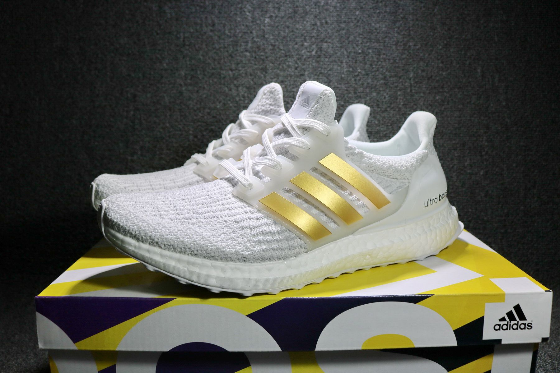 eddde81742c 2017 adidas Ultra Boost 3.0 White Gold BA7680 Men s Shoes For Sale – New  Yeezy Boost