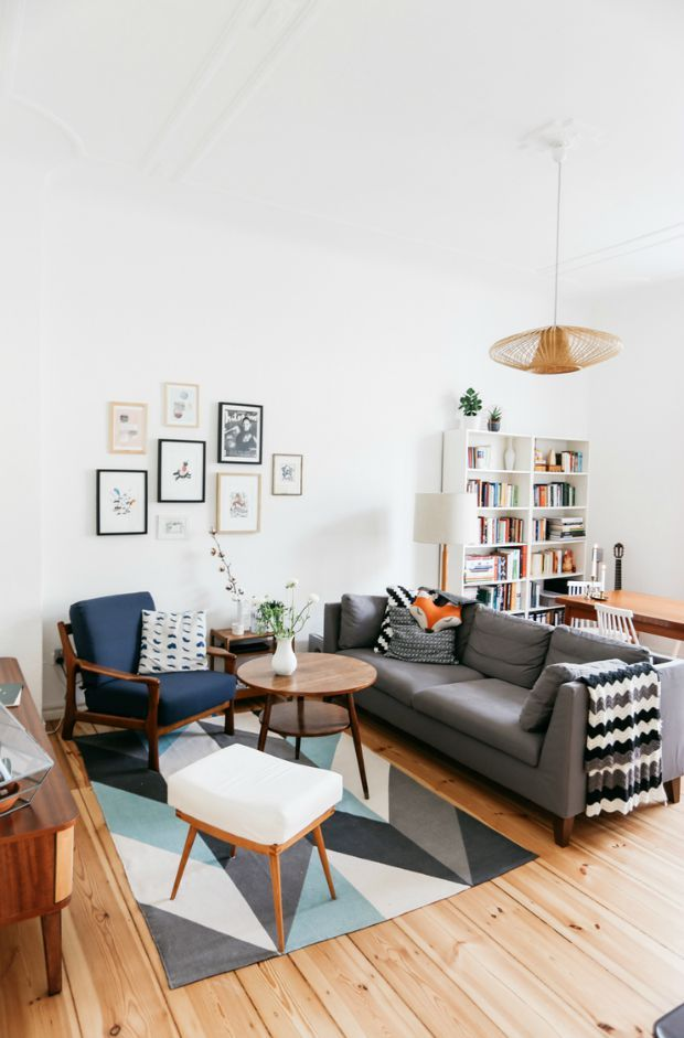 woonkamer-bank-midden - Interior | Pinterest - Midden, Bank en Bankstel