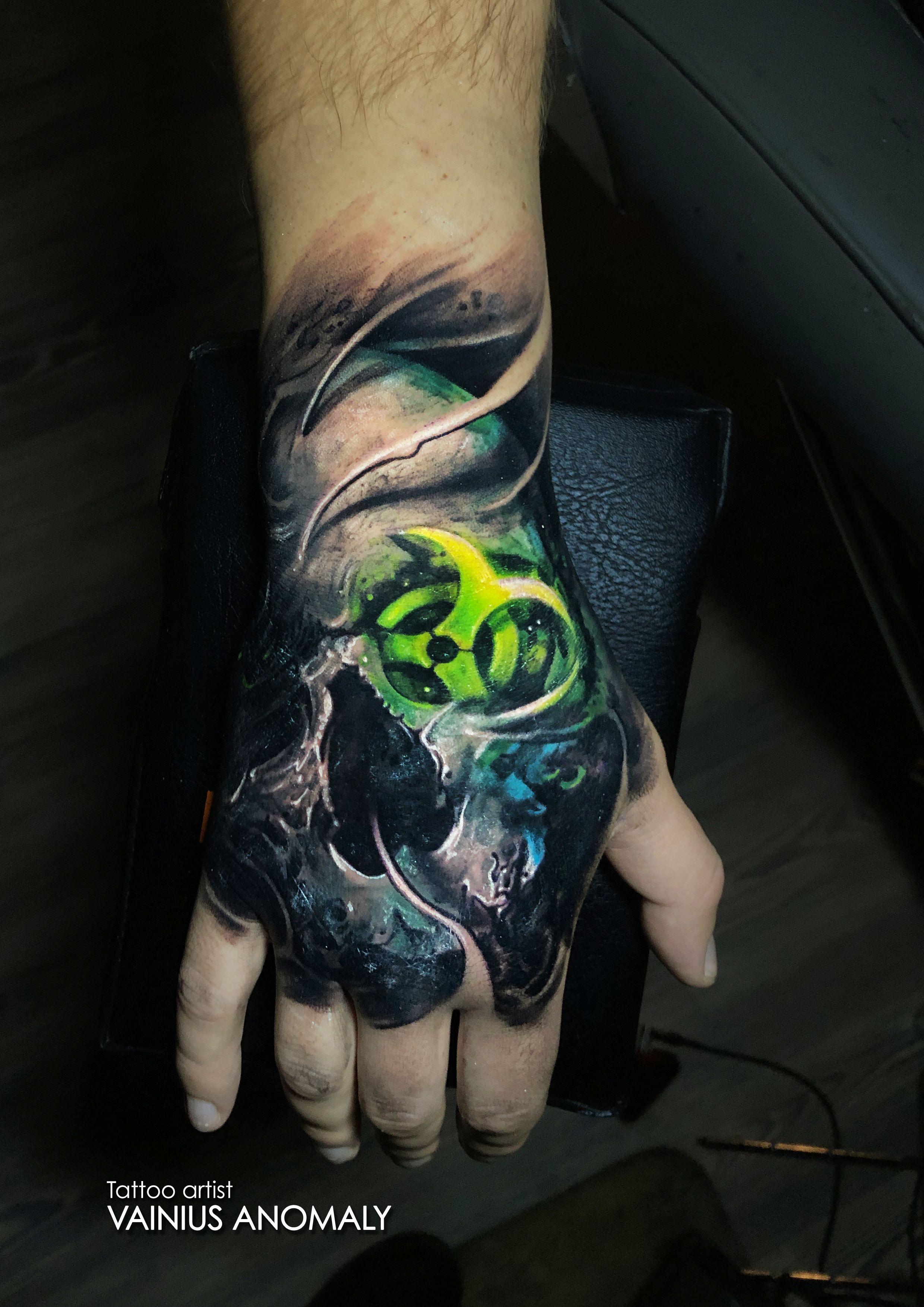 Tattoo Done By Vainius Anomaly Please Don T Copy Follow Http Www Instagram Com Vainius Art Http Www Facebook C Tattoos Hand Tattoos Buddha Tattoo Design
