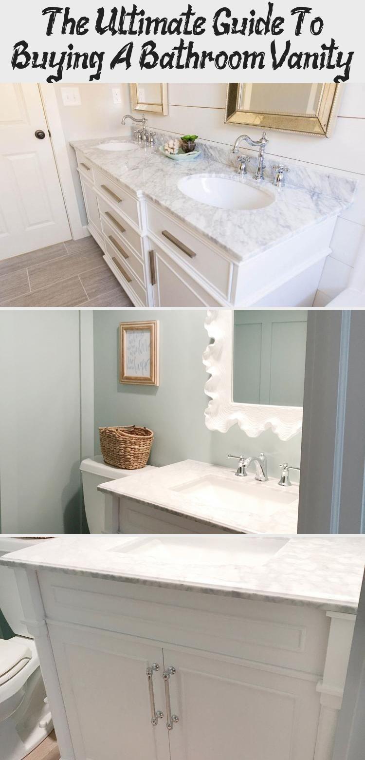The Ultimate Guide To Buying A Bathroom Vanity In 2020 Tiny House Bathroom Bathroom Vanity Decor Grey Bathroom Vanity