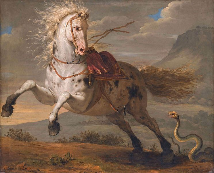 File:The horse and the snake, by Bénigne Gagnereaux.jpg