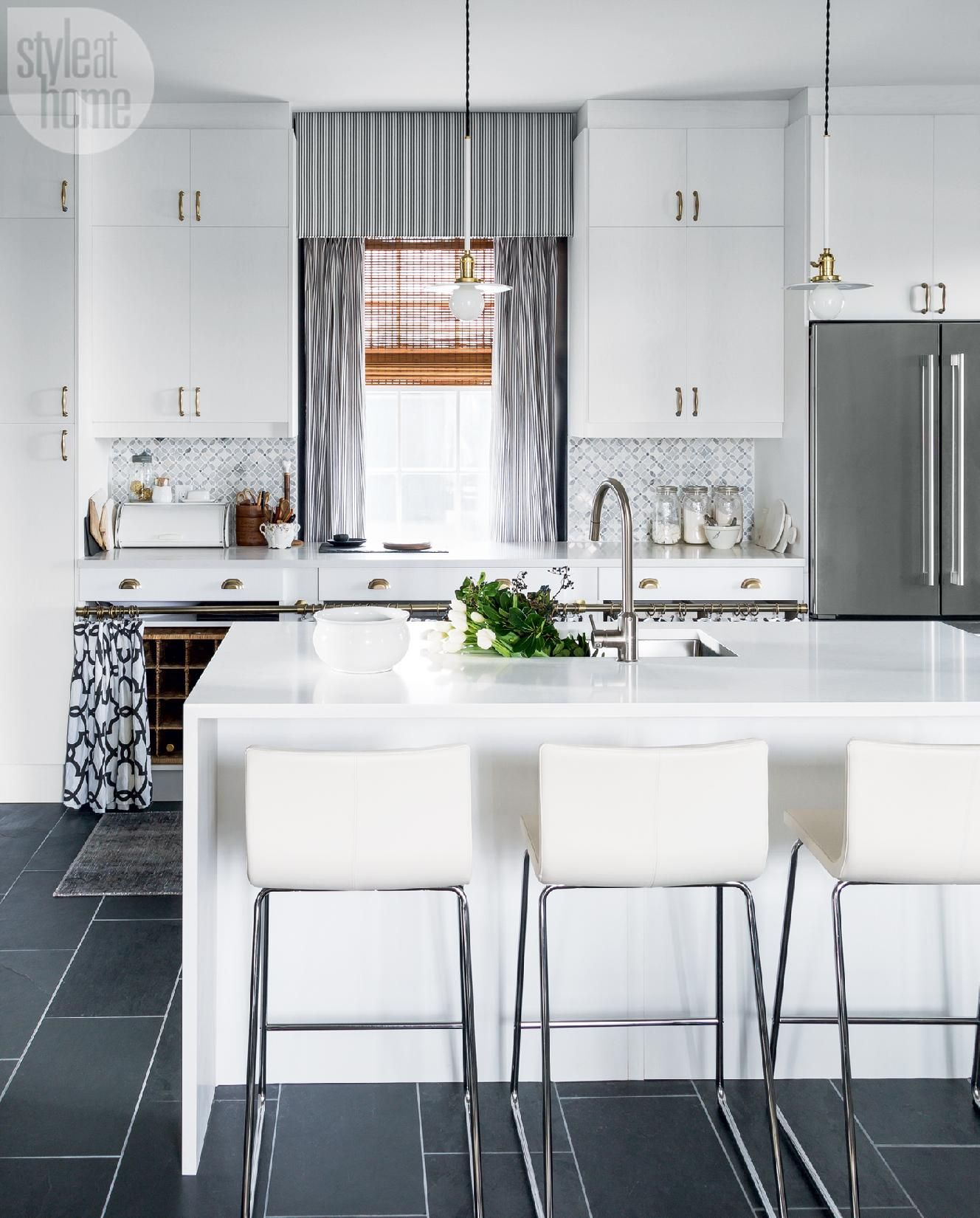 A bespoke kitchen remodel with Nordic country flair