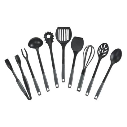 Kitchen Essentials From Calphalon Nylon Utensil Set 9 Piece Things Hacks