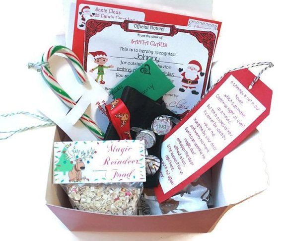 Package personalized from santa santas magic key letter christmas personalized christmas eve box santas magic key letter from santa nice list certificate elf letter kid reindeer food candy cane spiritdancerdesigns Image collections