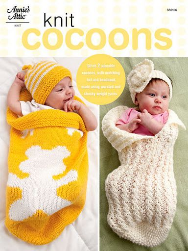Knit Cocoons These Are So Cute Have To Buy Pattern Form Annies