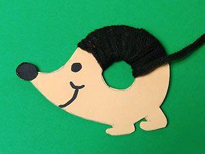 Basteln mit Wolle #twigcrafts