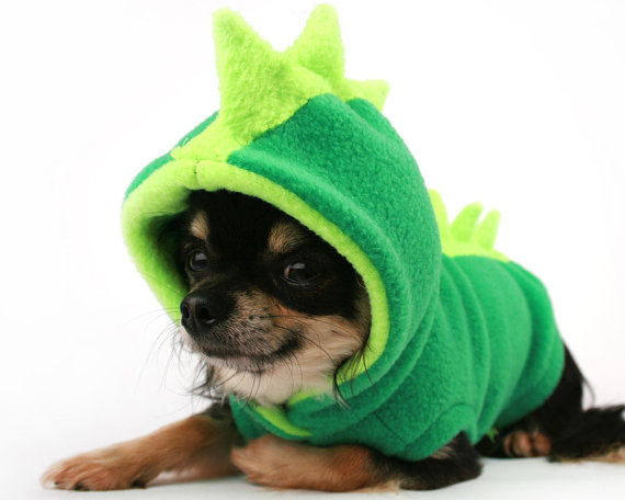 Dog Costume Dinosaur Spikes Green fleece dog door PetitDogApparel - 500 punten  sc 1 st  Pinterest : dog costumes dinosaur  - Germanpascual.Com