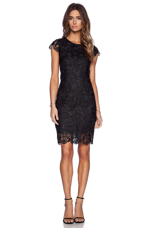 BLAQUE LABEL Lace Dress in Black