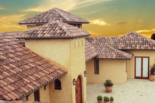 Concrete Clay Roof Tiles