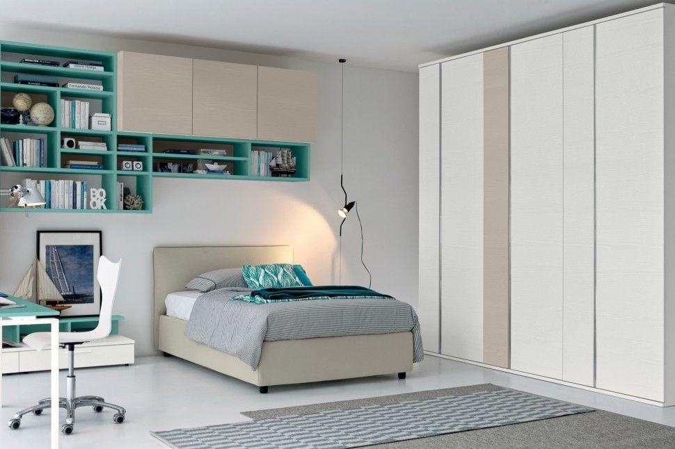 Modus Camerette ~ Linea camerette di golf Çocuk genç odaları pinterest modern