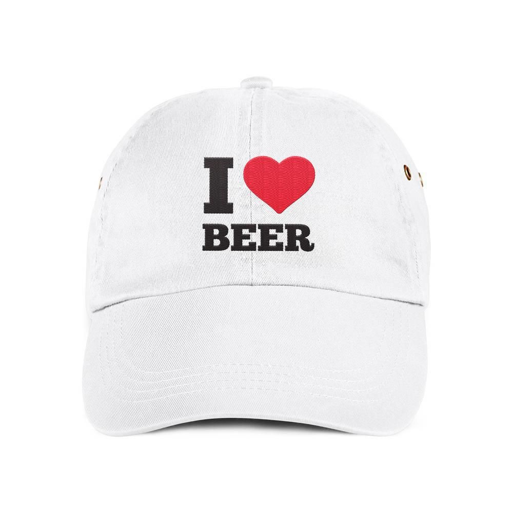97314f629ba I Love Beer Dad Hat Baseball Cap