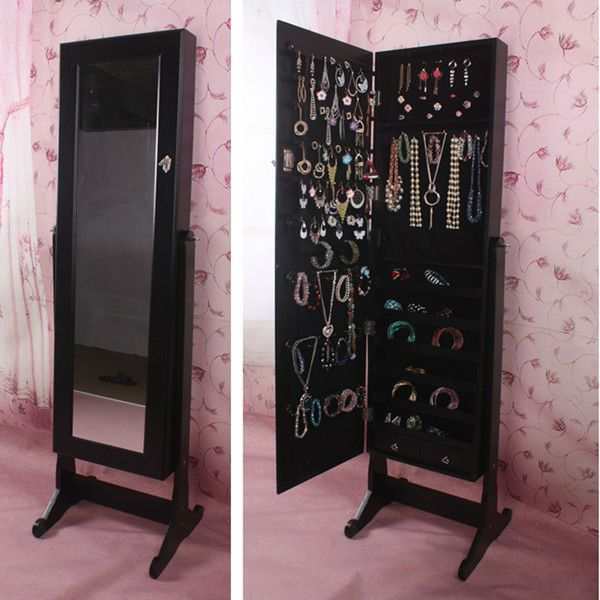 Delicieux Bella Wooden Dressing Mirror With Jewelry Cabinet   Google Search