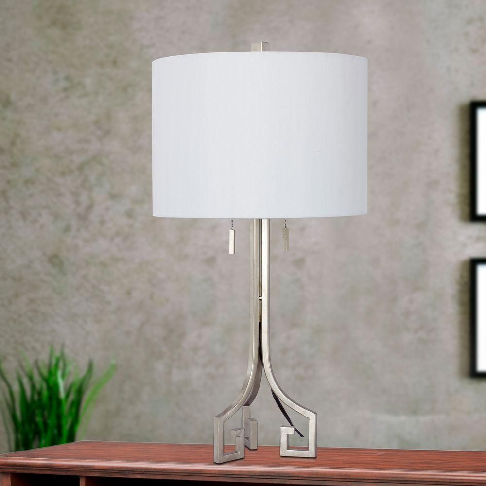 Table Lamps At Home Depot Fangio Lighting 27 Inchampagne Gold Modern Metal Table Lamp