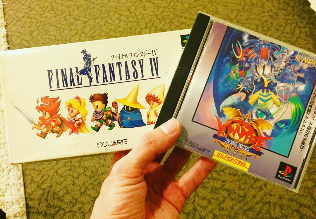 On instagram by grownassnerd #retrogames #microhobbit (o) http://ift.tt/1luKaMa quick pick ups today  #playstation #ff #famicom #superfamicom #nintendo #finalfantasy #finalfantasy4 #videogamecollection #videogames #gamer #games #gameon #gaming #retro #retrogaming  #retrogamecollector #vampire #vampiregame #grownassnerd