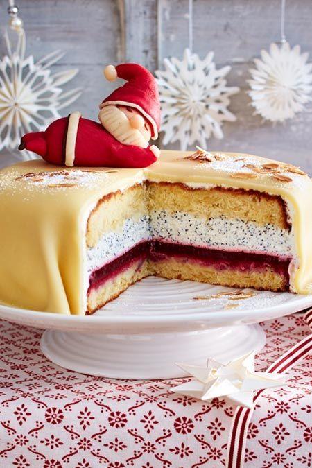 Photo of Poppy marzipan cake