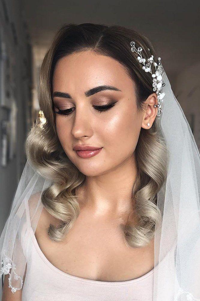 42 Dreamy Wedding Hairstyles With Veil | Wedding Forward ...
