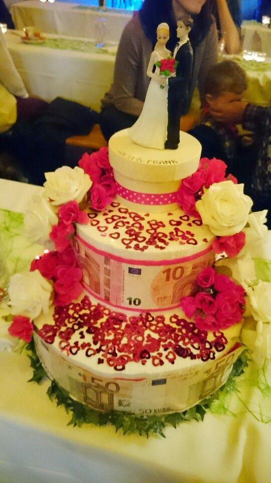Geldgeschenk Torte Aus Styropor Cakes Gifts Money și Anniversary