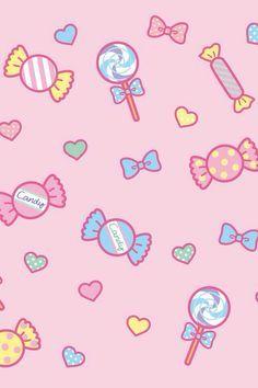 Kawaii Candy Wallpaper Kawaii Wallpaper Kawaii Background Cute Wallpapers