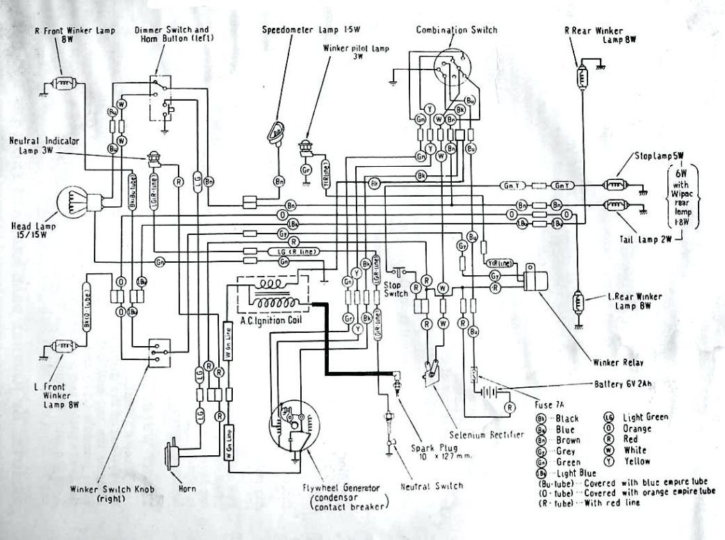 Wiring Diagram Of Motorcycle Honda Xrm 125 Bookingritzcarlton Info Honda Motorcycles Electrical Wiring Diagram Honda