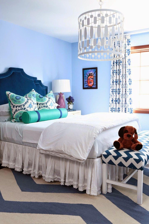 10 atemberaubende blaue Schlafzimmer, die Sie lieben