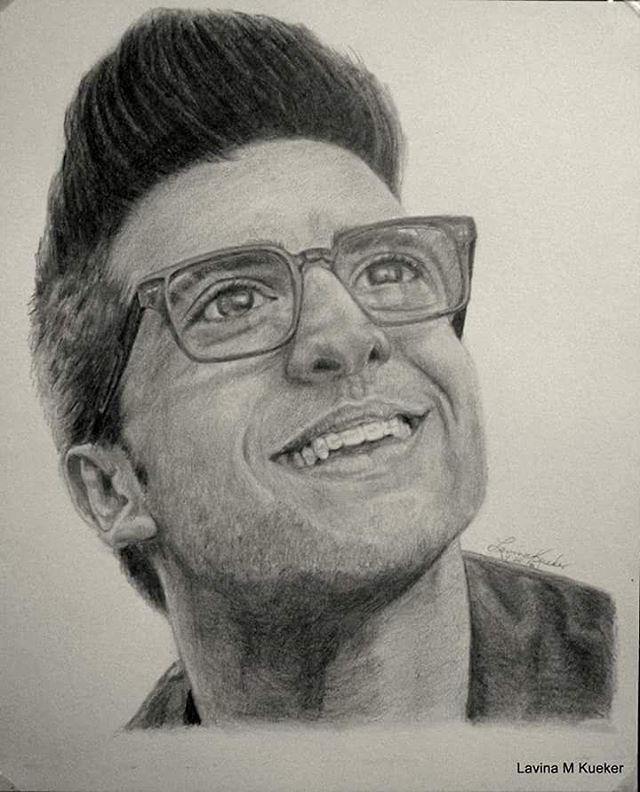 Drawing of Piero IL VOLO    ✈