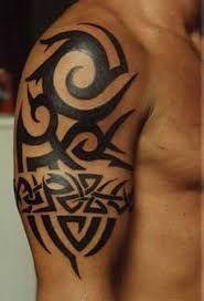 Resultado De Imagem Para Tatuajes Tribales En Brazo Y Hombro Disenos De Tatuajes Tribales Tatuajes Tribales Brazo Tatuajes Tribales