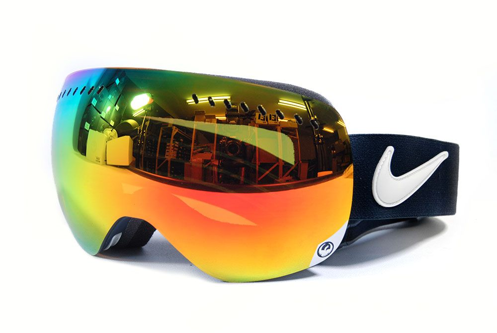 143ce6473c Dragon APX NIKE Grunge Red Ionized + Spare Lens Snowboard Ski Goggles