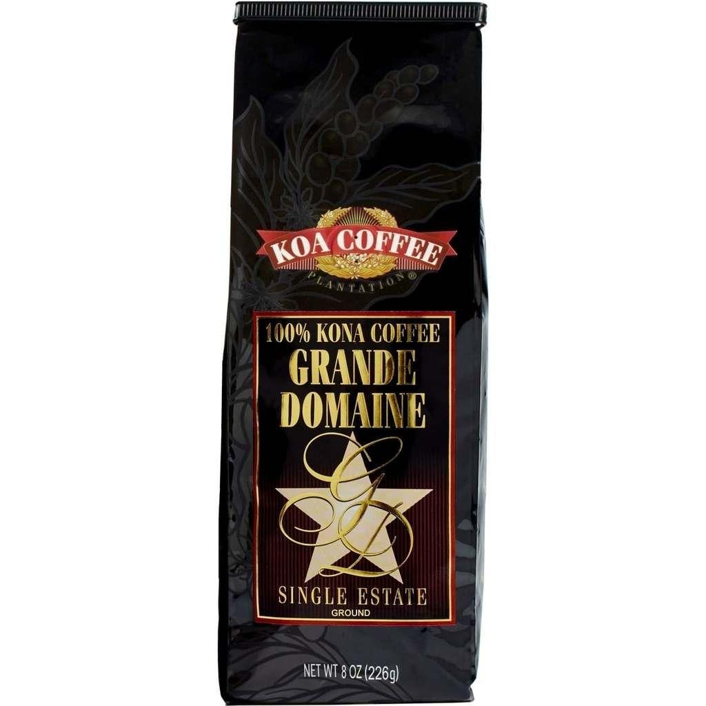 Grande domaine vienna roast ground kona coffee kona