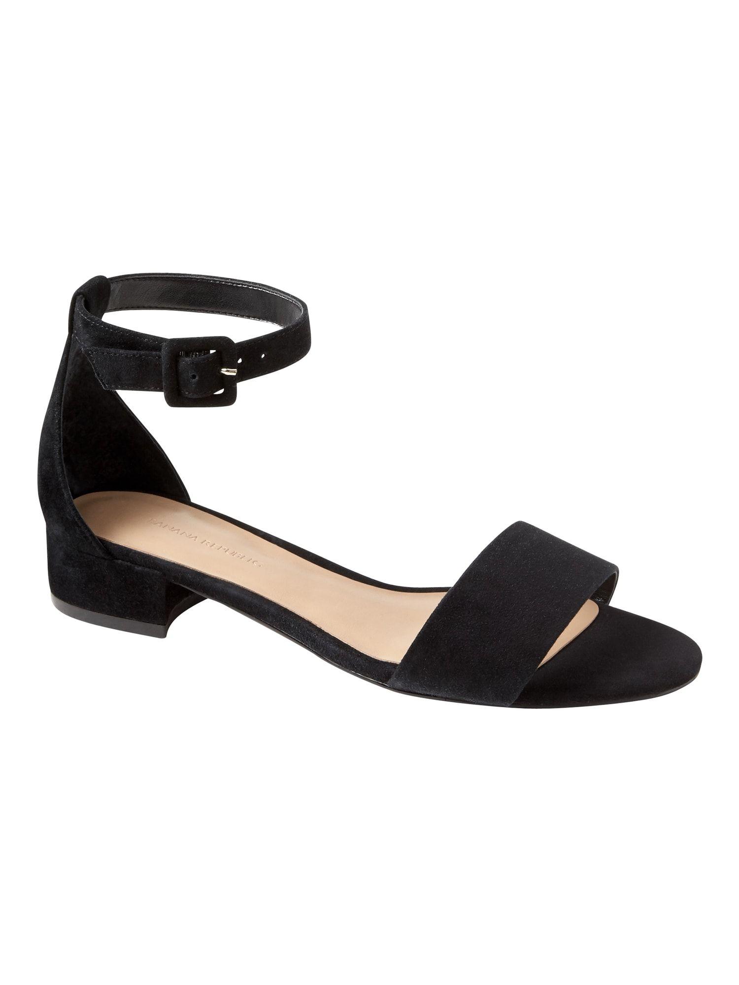 Low Heel Sandal | Banana Republic