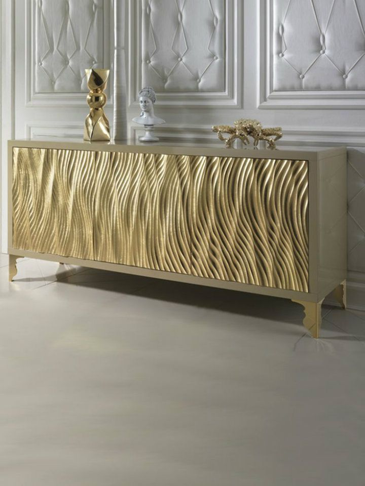 Best Decor Ideas Luxurious Sideboards And Buffets Gold