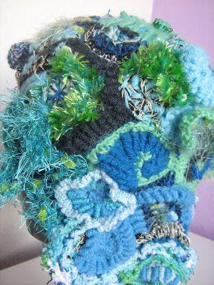 Saffron Yellow - Journey of a Crafting Mama: My New Hobby: Freeform Crochet
