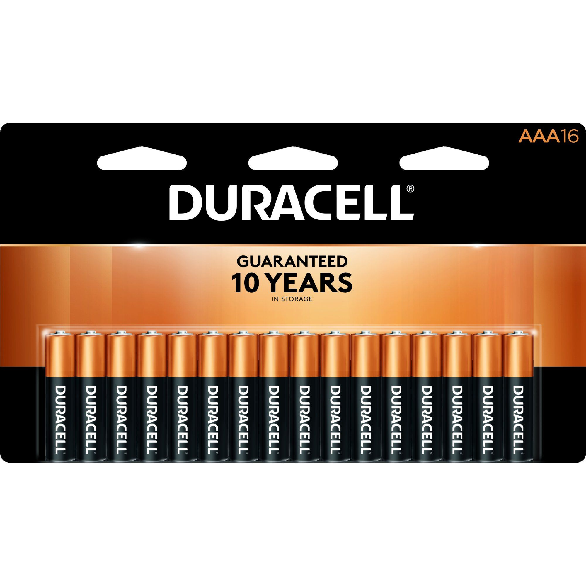 Duracell Coppertop Aaa Battery Long Lasting Triple A Batteries 16 Pack Walmart Com Duracell Alkaline Battery Basic Office Supplies