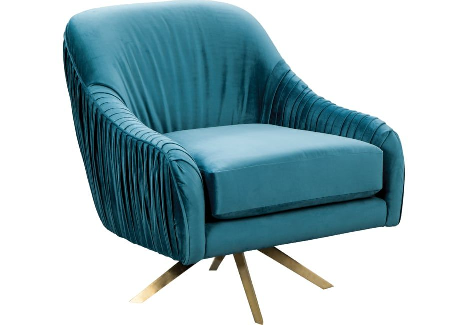 Amazing Newfane Blue Swivel Accent Chair In 2019 Products Accent Unemploymentrelief Wooden Chair Designs For Living Room Unemploymentrelieforg