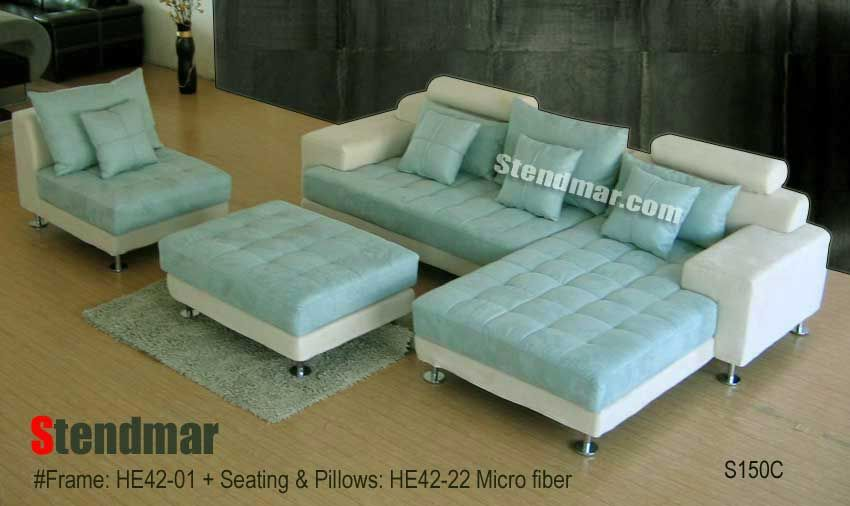 Awesome Stendmar Sectional Home Color Comfort Sectional Sofa Machost Co Dining Chair Design Ideas Machostcouk