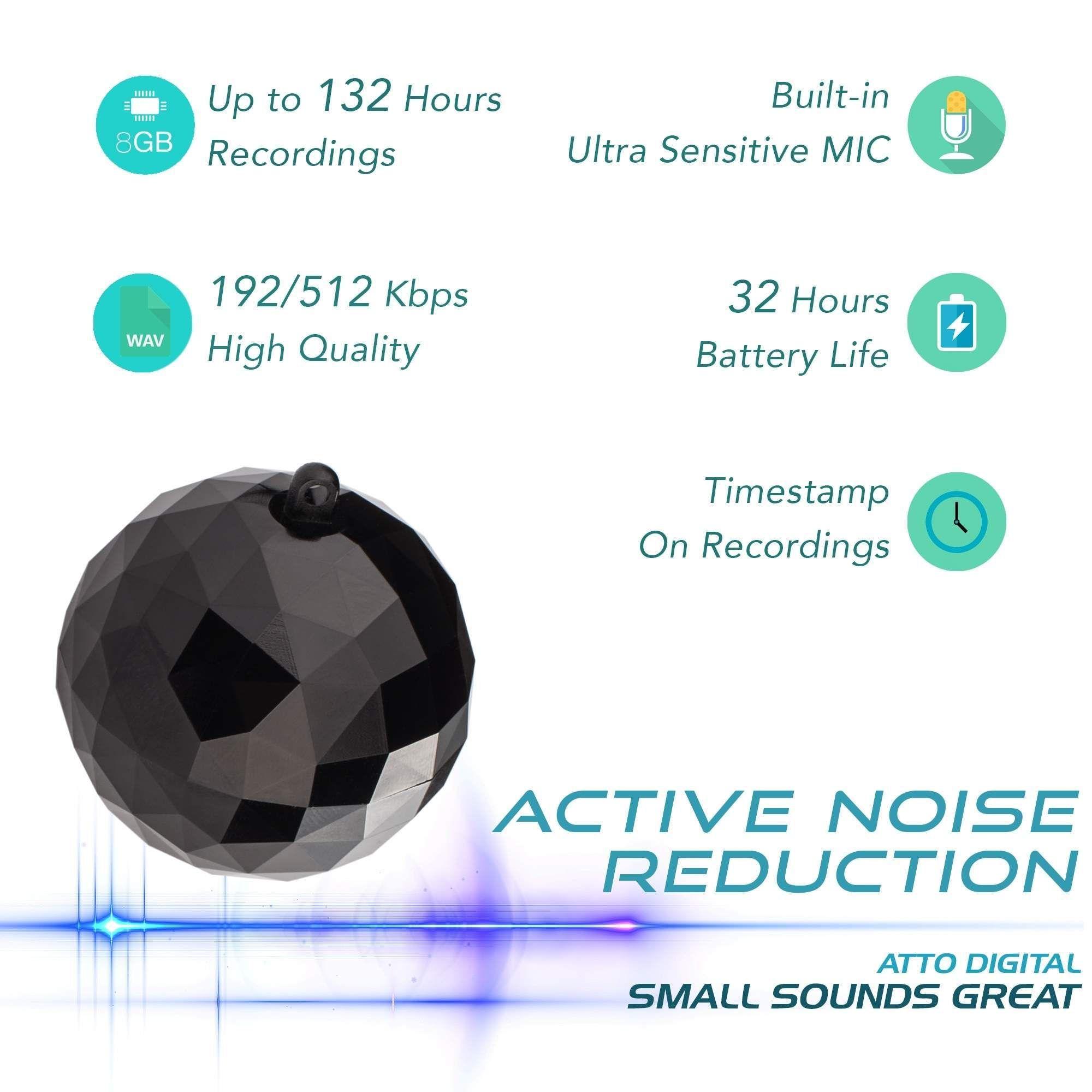 RecBall - Keychain Voice Recorder