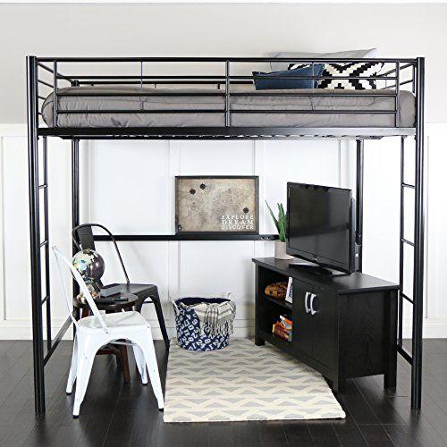 Best Top 10 Double Bunk Beds With Storage Of 2020 Queen Loft 400 x 300