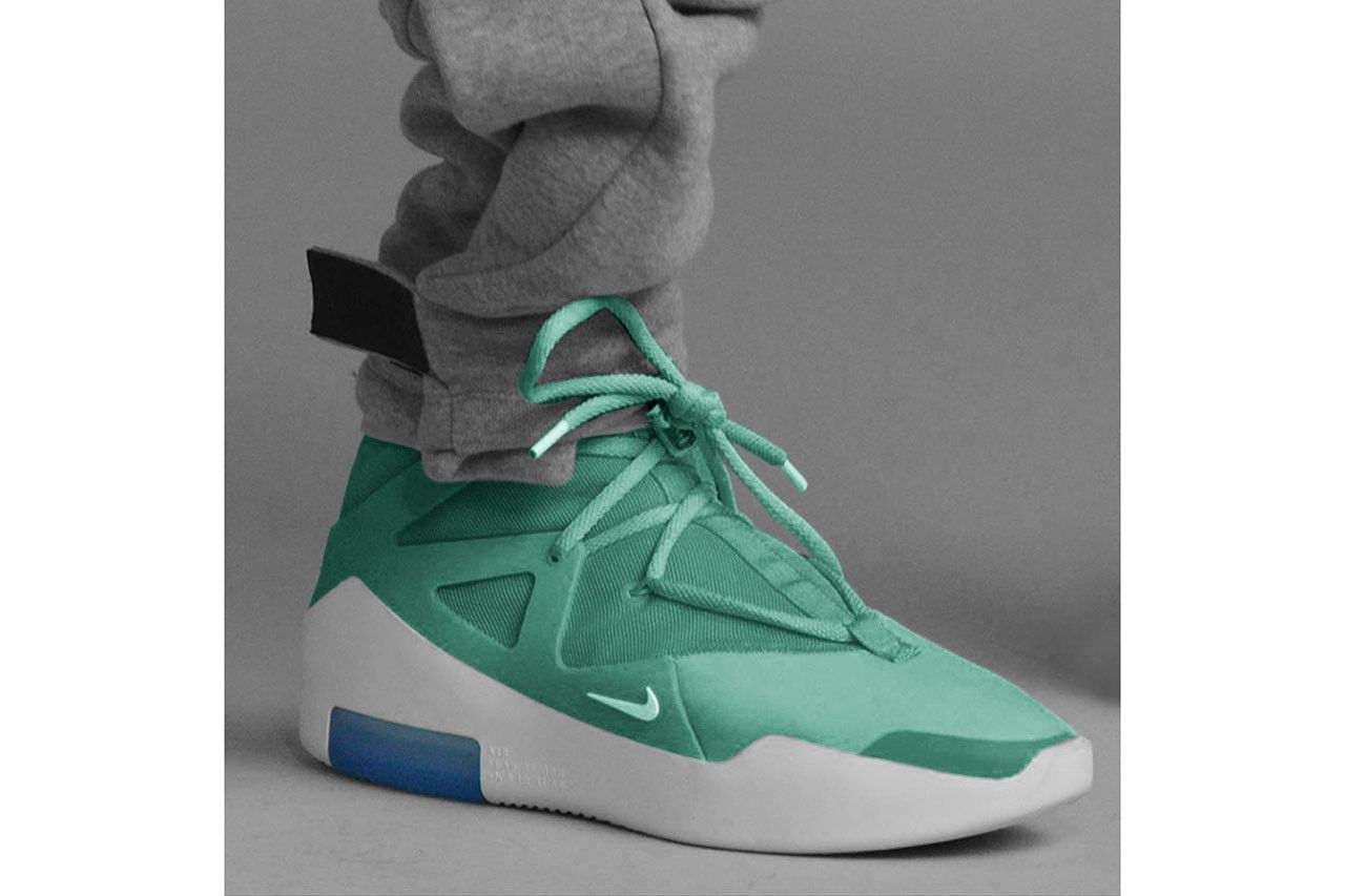 Colorways of the Nike Air Fear of God 1