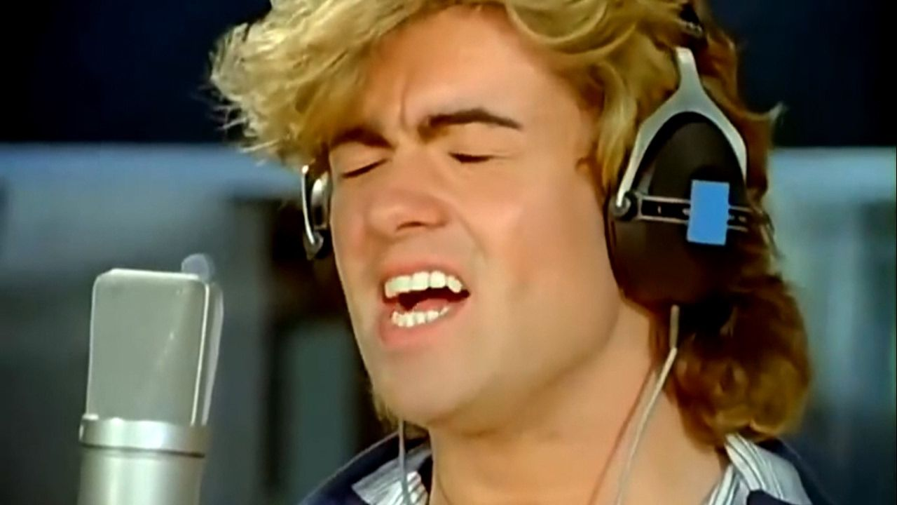 Band Aid Do They Know It S Christmas 1984 Hd Widesc Christmas Music Videos George Michael Band Aid