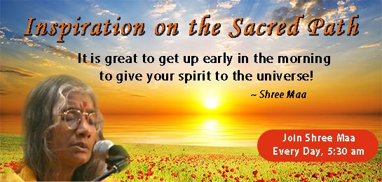 SING WITH SHREE MAA AT 5:30 AM PST EVERYDAY. https://mail.google.com/mail/u/0/#inbox/14b04072a54bdea7