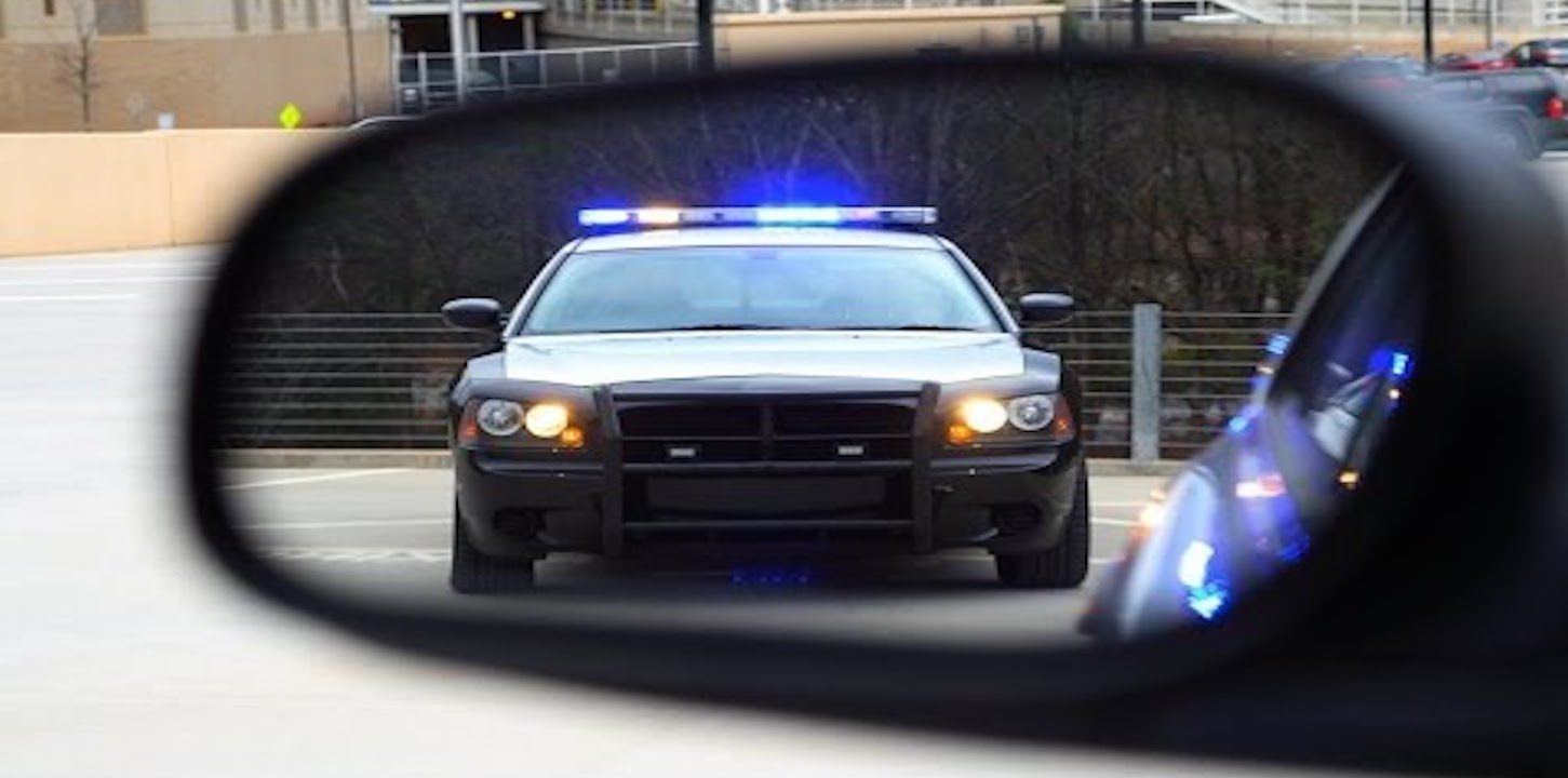 Black man pulled over for making direct eye contact with