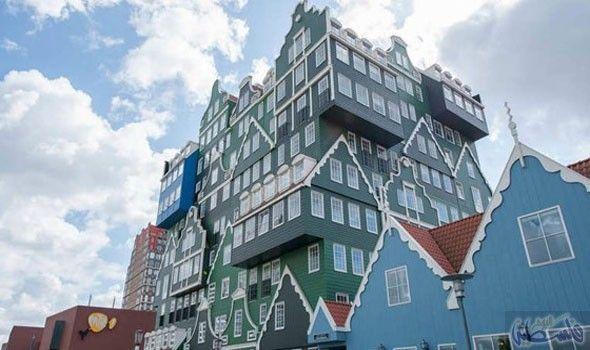 فندق Building Multi Story Building Structures