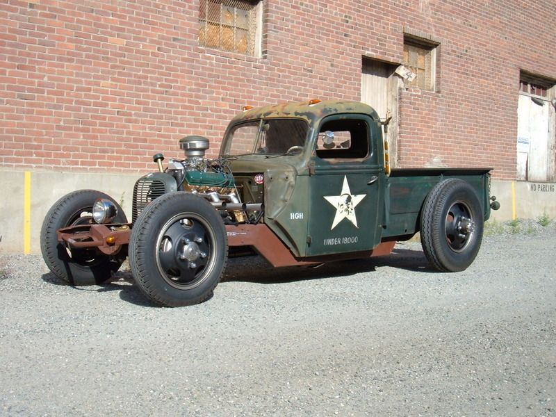 Rat Rod Truck - High Gear Hauler   Rats, Ford trucks and Ford