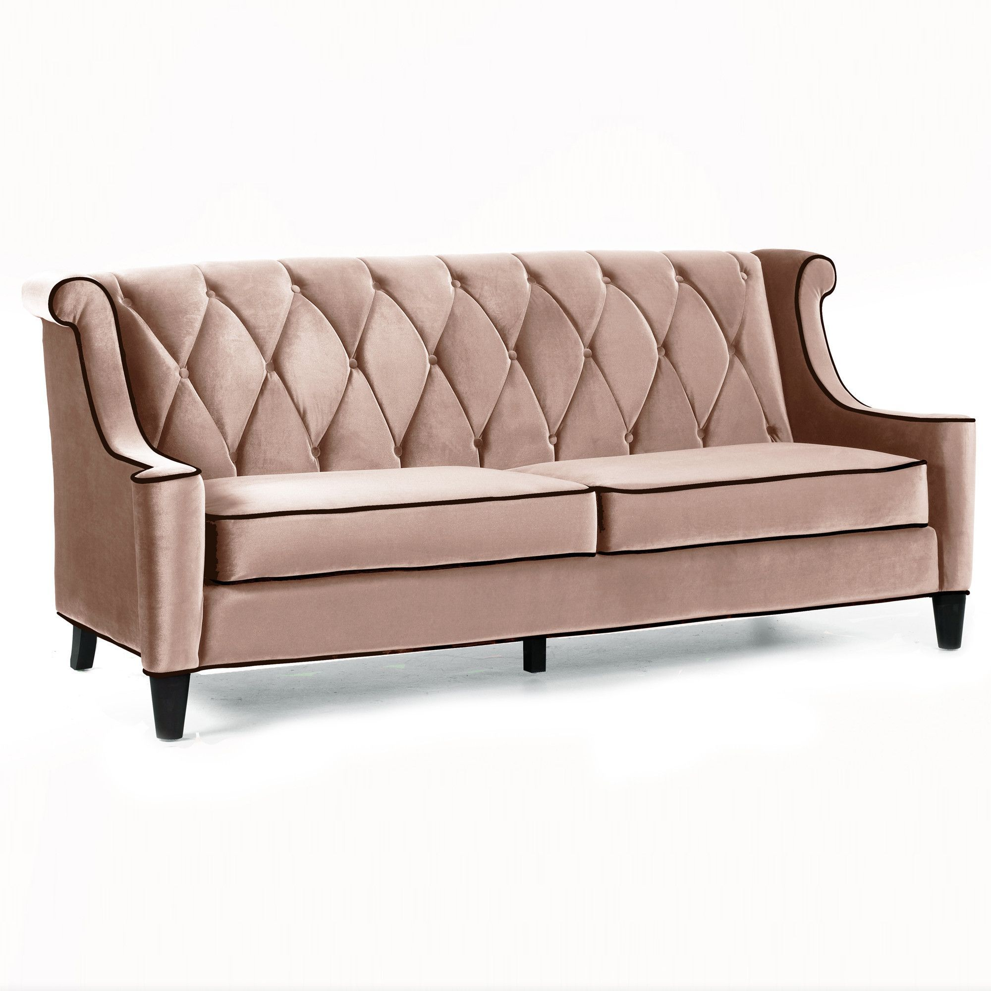 Best Barrister Sofa In Caramel Velvet Retro Sofa Velvet Sofa 400 x 300