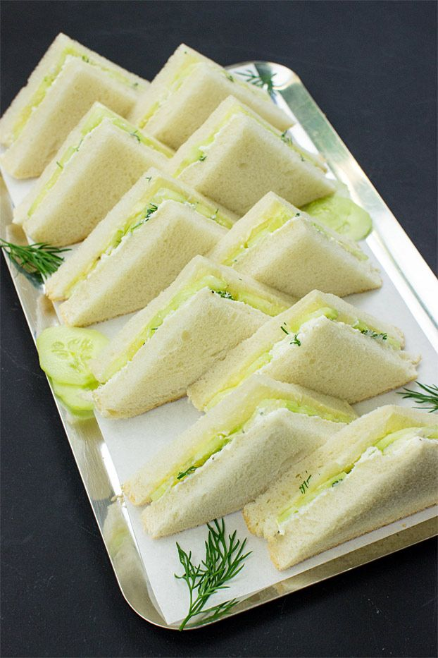 High Society Cucumber Sandwiches with Cream Cheese – the Dos and Don'ts #sandwichrecipes